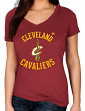 "Cleveland Cavaliers Women's Majestic NBA ""The Main Thing"" Short Sleeve T-shirt"