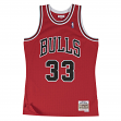Scottie Pippen Chicago Bulls Mitchell & Ness NBA Throwback HWC Jersey - Red