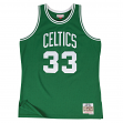Larry Bird Boston Celtics Mitchell & Ness NBA Throwback HWC Jersey - Green