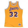Magic Johnson Los Angeles Lakers Mitchell & Ness NBA Throwback HWC Jersey - Gold