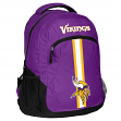 """Minnesota Vikings NFL """"Action"""" Air-Mesh Structured Lightweight Backpack"""
