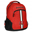 """Tampa Bay Buccaneers NFL """"Action"""" Air-Mesh Structured Lightweight Backpack"""