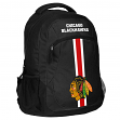 """Chicago Blackhawks NHL """"Action"""" Air-Mesh Structured Lightweight Backpack"""