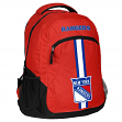 """New York Rangers NHL """"Action"""" Air-Mesh Structured Lightweight Backpack"""