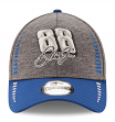 Dale Earnhardt Jr New Era 9Forty Speed Performance Adjustable Hat - Graphite