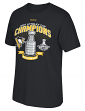 Pittsburgh Penguins Reebok NHL 2017 Stanley Cup Champions Trophy T-Shirt