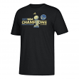 Golden State Warriors 2017 NBA Champions Adidas Locker Room Men's T-Shirt