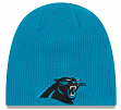 "Carolina Panthers New Era NFL ""Basic Team Beanie"" Reversible Knit Hat"