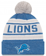 """Detroit Lions New Era NFL """"Toasty Cover"""" Cuffed Knit Hat with Pom"""