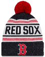 """Boston Red Sox New Era MLB """"Toasty Cover"""" Cuffed Knit Hat with Pom"""