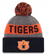 "Auburn Tigers New Era NCAA ""Sport Knit"" Cuffed Hat with Pom"