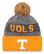 "Tennessee Volunteers New Era NCAA ""Sport Knit"" Cuffed Hat with Pom"