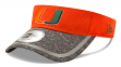 "Miami Hurricanes New Era NCAA ""Training"" Performance Visor"