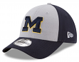"""Michigan Wolverines New Era NCAA 9Forty """"The League Blocked"""" Adjustable Hat"""