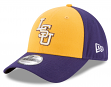 "LSU Tigers New Era NCAA 9Forty ""The League Blocked"" Adjustable Hat"