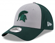 """Michigan State Spartans New Era NCAA 9Forty """"The League Blocked"""" Adjustable Hat"""