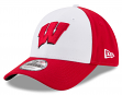 "Wisconsin Badgers New Era NCAA 9Forty ""The League Blocked"" Adjustable Hat"
