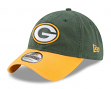 "Green Bay Packers New Era NFL 9Twenty ""Twill Core Classic"" Adjustable Hat"