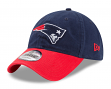 "New England Patriots New Era NFL 9Twenty ""Twill Core Classic"" Adjustable Hat"