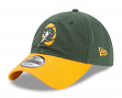 Green Bay Packers New Era NFL 9Twenty Historic Twill Core Classic Adjustable Hat