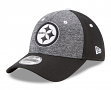 """Pittsburgh Steelers New Era 9Forty NFL """"League Shadow 2"""" Adjustable Hat - Black"""