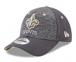 """New Orleans Saints New Era 9Forty NFL """"League Shadow 2"""" Adjustable Hat - Gray"""