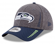 "Seattle Seahawks New Era 9Forty NFL ""Speed"" Performance Adjustable Hat - 2 Tone"