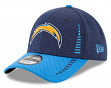 """Los Angeles Chargers New Era 9Forty NFL """"Speed Tech"""" Performance Adjustable Hat"""