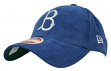 """Brooklyn Dodgers New Era MLB 9Forty """"Cooperstown Team Cord"""" Adjustable Hat"""