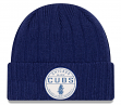 """Chicago Cubs New Era MLB """"Retro Ribbed"""" Cuffed Knit Hat"""