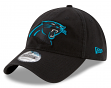 "Carolina Panthers New Era 9Twenty NFL ""Black Core Classic"" Adjustable Hat"