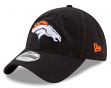 "Denver Broncos New Era 9Twenty NFL ""Black Core Classic"" Adjustable Hat"