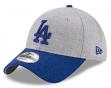 "Los Angeles Dodgers New Era 9Forty MLB ""Heather Crisp 2"" Adjustable Hat"