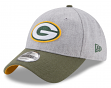 "Green Bay Packers New Era 9Forty NFL ""Heather Crisp 2"" Adjustable Hat"