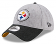 "Pittsburgh Steelers New Era 9Forty NFL ""Heather Crisp 2"" Adjustable Hat"
