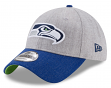 "Seattle Seahawks New Era 9Forty NFL ""Heather Crisp 2"" Adjustable Hat"