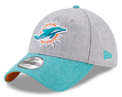 "Miami Dolphins New Era 9Forty NFL ""Heather Crisp 2"" Adjustable Hat"