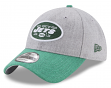 "New York Jets New Era 9Forty NFL ""Heather Crisp 2"" Adjustable Hat"