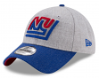 "New York Giants New Era 9Forty NFL Historic ""Heather Crisp 2"" Adjustable Hat"