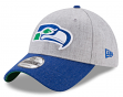 "Seattle Seahawks New Era 9Forty NFL Historic ""Heather Crisp 2"" Adjustable Hat"