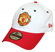 "Manchester United FC New Era 9Twenty ""Core Classic"" Adjustable Hat - Red Visor"