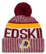 Washington Redskins New Era 2017 NFL Sideline On Field Sport Knit Hat - Red