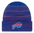 "Buffalo Bills New Era 2017 NFL Sideline ""Cold Weather TD"" Knit Hat - Blue"