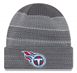 "Tennessee Titans New Era 2017 NFL ""Cold Weather TD"" Knit Hat - Graphite"