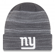 """New York Giants New Era 2017 NFL """"Cold Weather TD"""" Knit Hat - Graphite"""