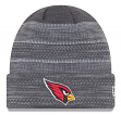 "Arizona Cardinals New Era 2017 NFL ""Cold Weather TD"" Knit Hat - Graphite"