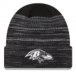 "Baltimore Ravens New Era 2017 NFL ""Cold Weather TD"" Knit Hat - Black"