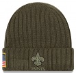 "New Orleans Saints New Era 2017 NFL Sideline ""Salute to Service"" Knit Hat"