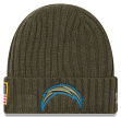 "Los Angeles Chargers New Era 2017 NFL Sideline ""Salute to Service"" Knit Hat"