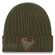 "Houston Texans New Era 2017 NFL Sideline ""Salute to Service"" Knit Hat"